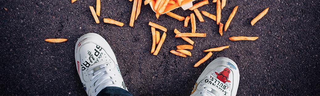 comment nettoyer une tache sur tes chaussures