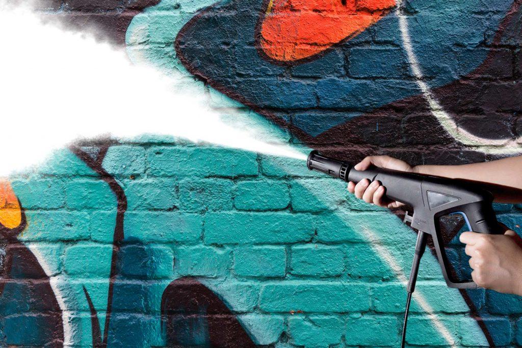 nettoyage haute pression graffiti